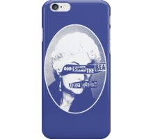God Save the Bea (White) iPhone Case/Skin