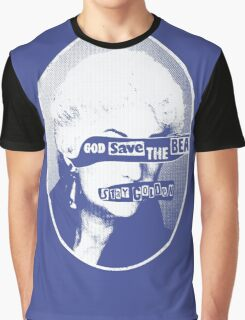 God Save the Bea (White) Graphic T-Shirt