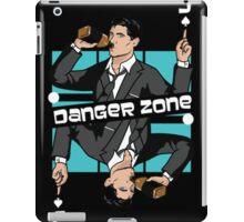 Archer Danger Zone Jack Card iPad Case/Skin