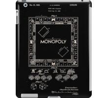 Monopoly Board Patent 1935 iPad Case/Skin