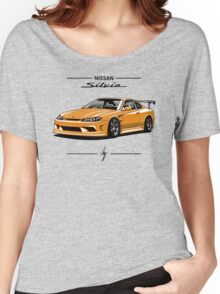 Nissan Silvia S15 (yellow) Women's Relaxed Fit T-Shirt