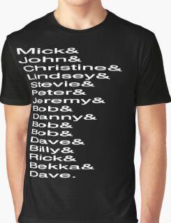 Fleetwood Mac Members Graphic T-Shirt