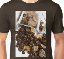 Kaffee mit Zucker Unisex T-Shirt