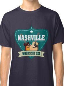 Vintage Nashville Music City Classic T-Shirt