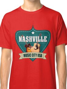 Vintage Nashville Music City Classic T-Shirt