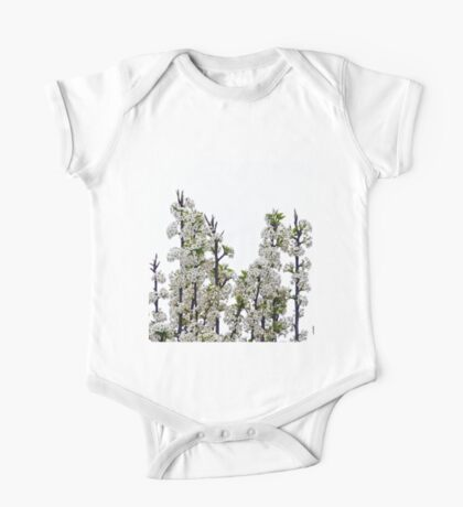 Bradford Pear Blossoms One Piece - Short Sleeve