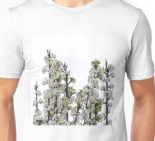 Bradford Pear Blossoms Unisex T-Shirt