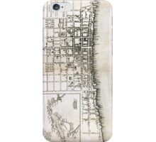 Plan of the city of Philadelphia - 1776  iPhone Case/Skin