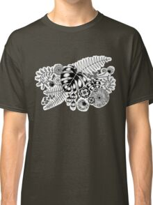 Tropical Leaves and Flowers Classic T-Shirt