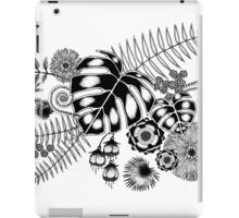 Tropical Leaves and Flowers iPad Case/Skin