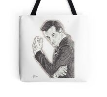 Moriarty portrayed by Andrew Scott in Sherlock Tote Bag