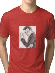 Moriarty portrayed by Andrew Scott in Sherlock Tri-blend T-Shirt