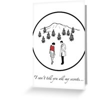 Audrey & Cooper Greeting Card