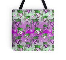 Sparkle Grapes Purple Pattern Tote Bag