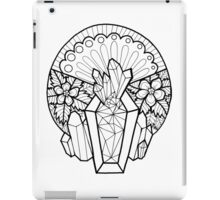 Crystal Coffin: Memento Mori iPad Case/Skin