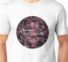 Daydream, Purple Watercolour & Ink Creative Pattern Unisex T-Shirt