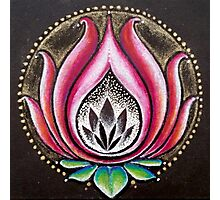Drishti Lotus Photographic Print