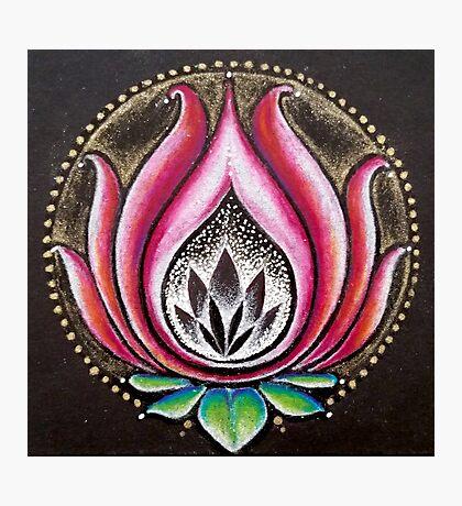 Drishti Lotus Photographic Print