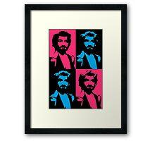 pink charles manson Framed Print