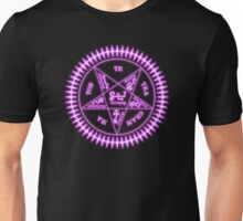 Sebastian Michaelis Sigil Light (black bg) Unisex T-Shirt