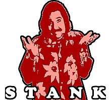 STANK BOLD FOR RED GINGER PEOPLE HOOT PEE Photographic Print