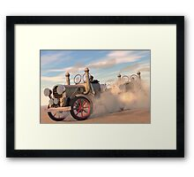 The great autombile race Framed Print