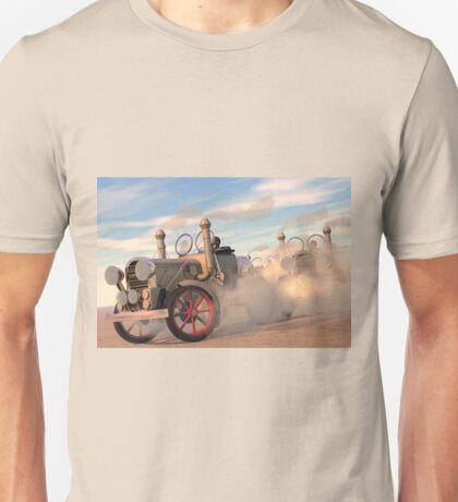 The great autombile race Unisex T-Shirt