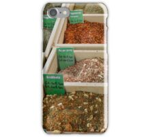 Dried Spice Mixes iPhone Case/Skin