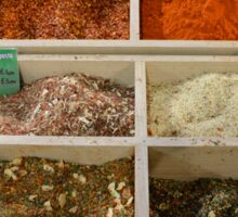 Dried Spice Mixes Sticker
