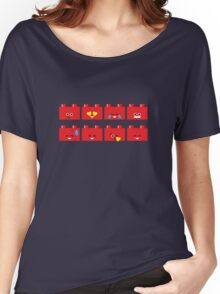 Emoji Building - Lego Women's Relaxed Fit T-Shirt