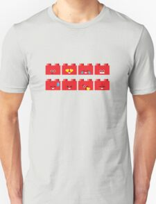 Emoji Building - Lego Unisex T-Shirt
