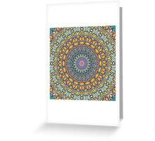 Blue Turns To Red As Things Heat Up In The Kaleidoscope Greeting Card