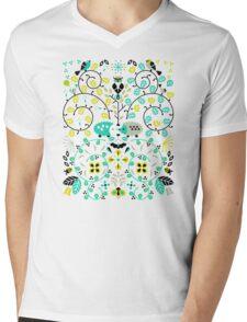 Hedgehog Lovers Mens V-Neck T-Shirt