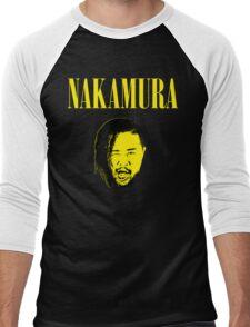 Nakamura 'Nevermind' mashup t-shirt Men's Baseball ¾ T-Shirt