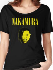 Nakamura 'Nevermind' mashup t-shirt Women's Relaxed Fit T-Shirt