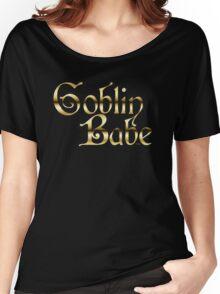 Labyrinth Goblin Babe (black bg) Women's Relaxed Fit T-Shirt