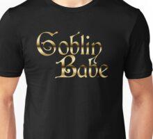 Labyrinth Goblin Babe (black bg) Unisex T-Shirt