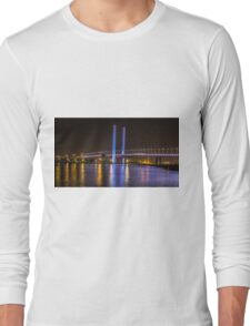 Bolte Bridge at night, Melbourne Long Sleeve T-Shirt
