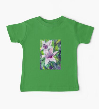 Happy Lilies After the Rain 2014 Baby Tee