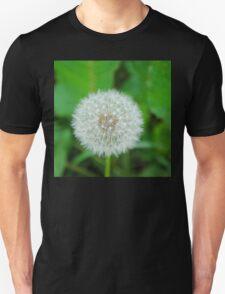 White Dandelion  Unisex T-Shirt