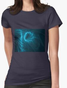 Fractal spine Womens Fitted T-Shirt