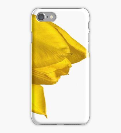 Tulipa 'Yellow Purissima' iPhone Case/Skin