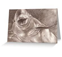 Happy Beluga Greeting Card