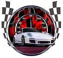 Sports cars and racing  Photographic Print