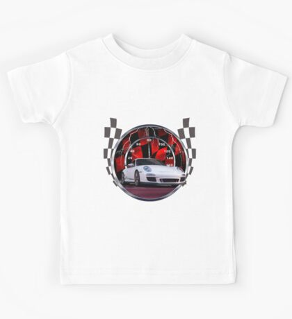 Sports cars and racing  Kids Tee