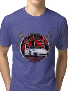 Sports cars and racing  Tri-blend T-Shirt