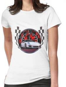 Sports cars and racing  Womens Fitted T-Shirt