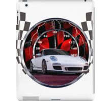 Sports cars and racing  iPad Case/Skin