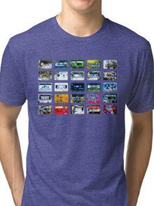 Damaged tapes 2 Tri-blend T-Shirt