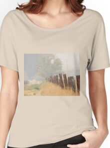 Fence Line Women's Relaxed Fit T-Shirt